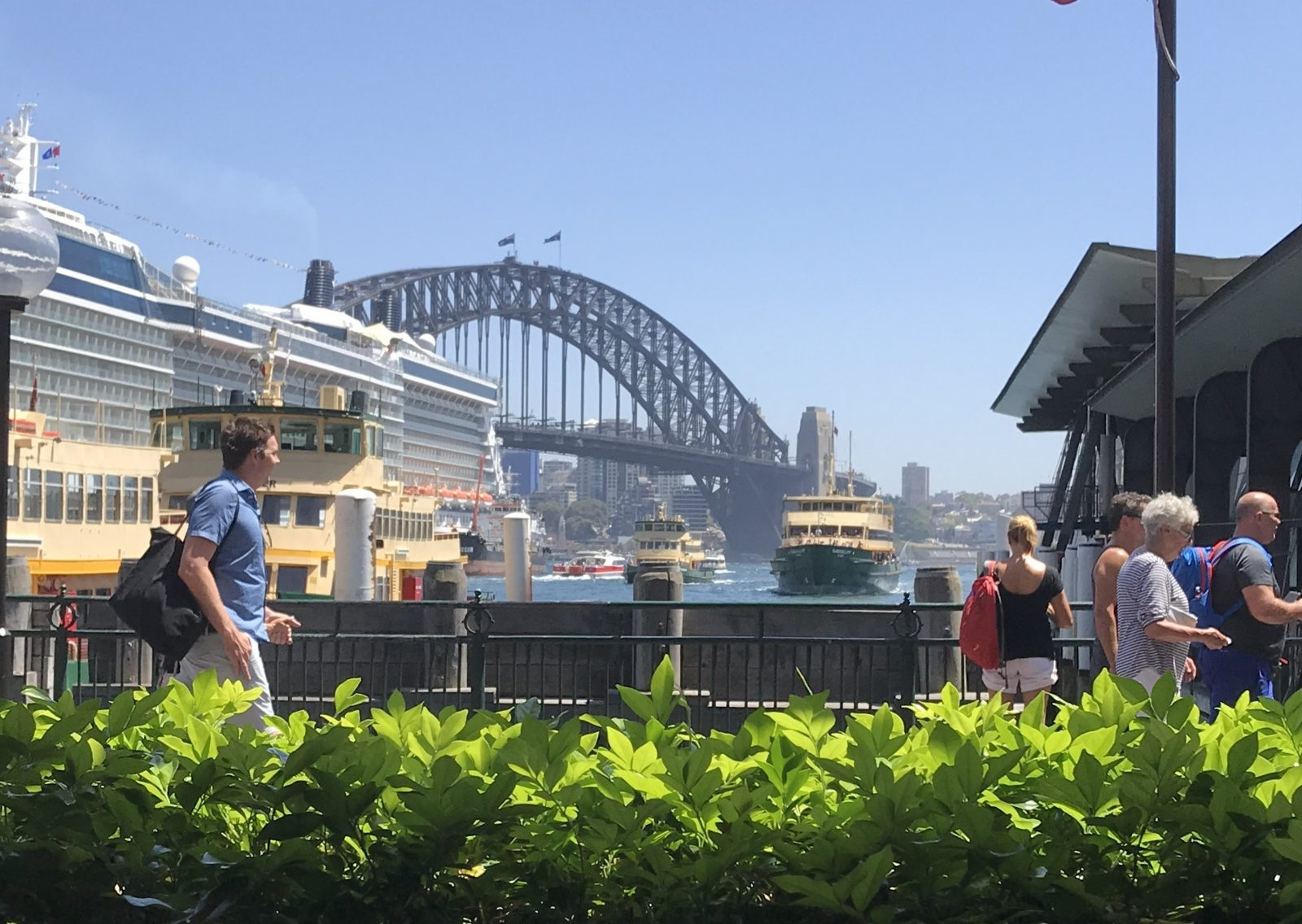 All dining areas have magnificent views of Sydnet Harbour and the bridge