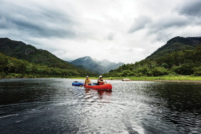 Paddle the longest whotewater trail in Australia in the Clarence Valley