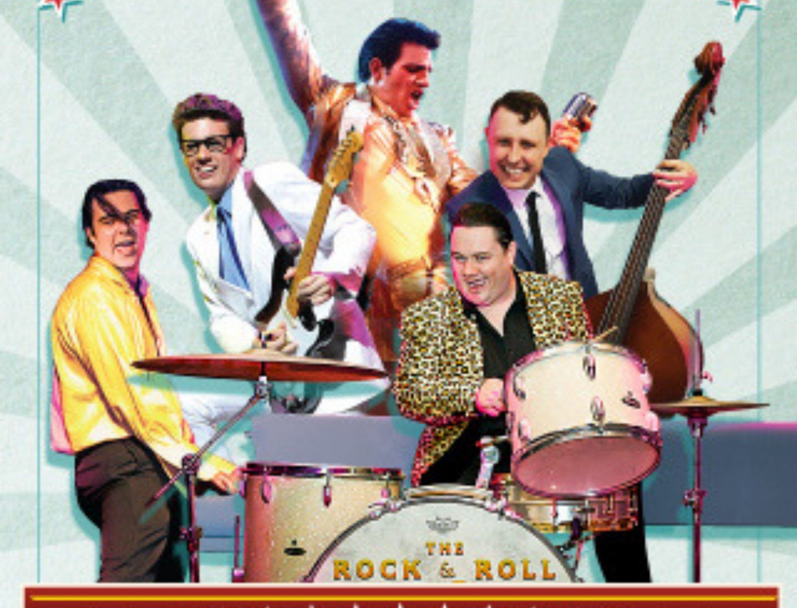 Stars of the rock and roll