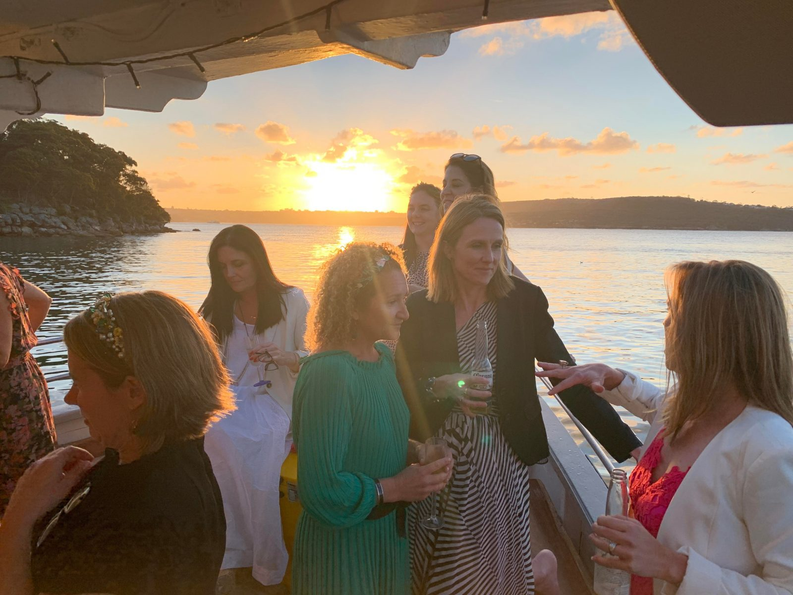 Friends, Relaxing, Drinks, Sydney Harbour