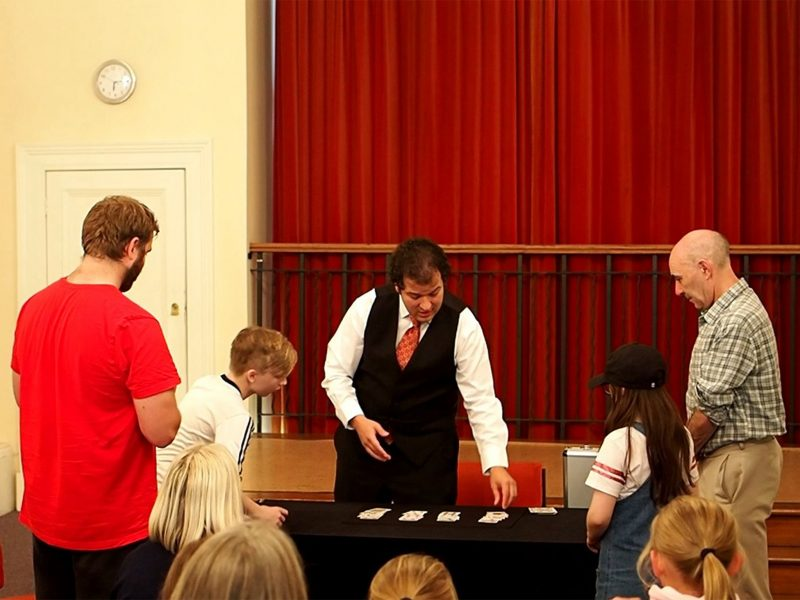 Dr Taliesin Master Magician and Classic Conjuring, Edinburgh