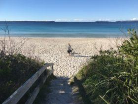 Nelson's Beach, Jervis Bay