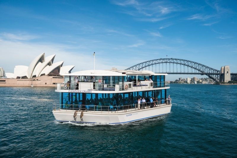 Sydney Glassboat Lunch Cruise