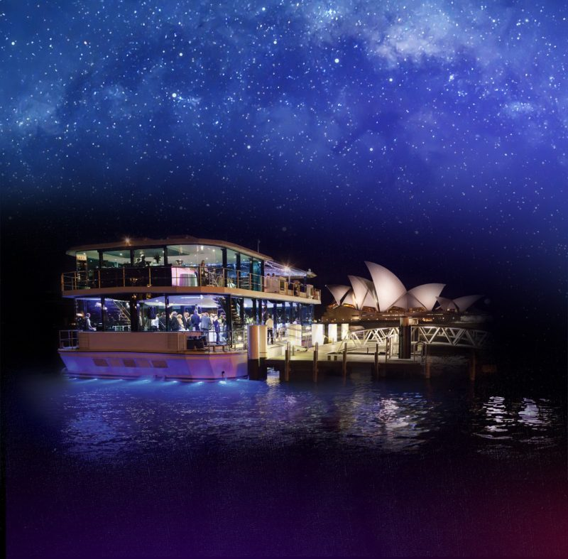 Glassboat on Sydney Harbour
