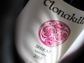 Bottle of Clonakilla Shiraz. Photo by David Reist