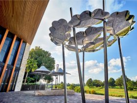 Clouds Gathering Sculpture
