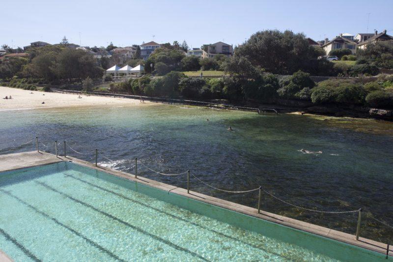 Clovelly beach and ocean pool