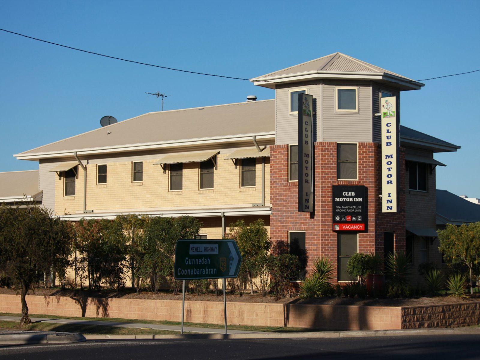 Club Motor Inn Narrabri NSW