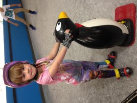 Unteady on your feet grab a Penguin