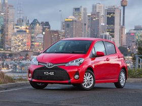 Toyota Yaris Hatch seats four/five