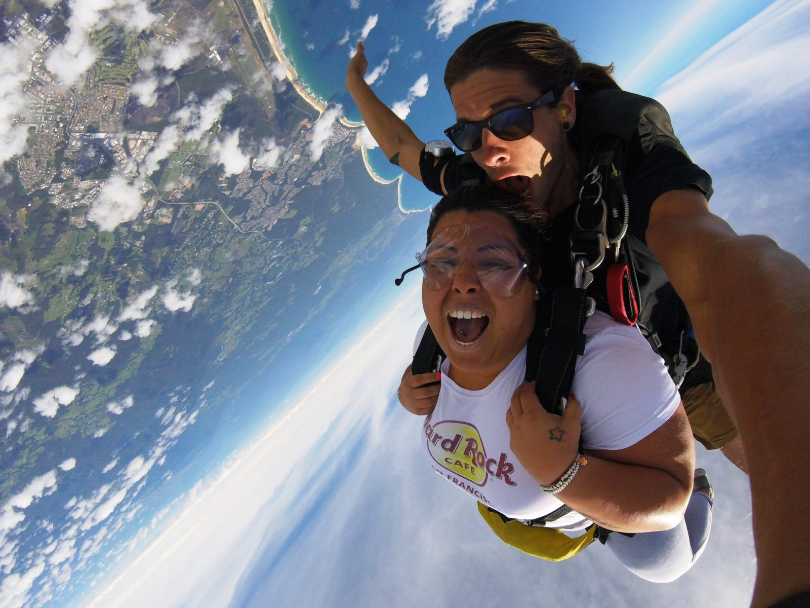 Coffs Skydivers - Freefall fun
