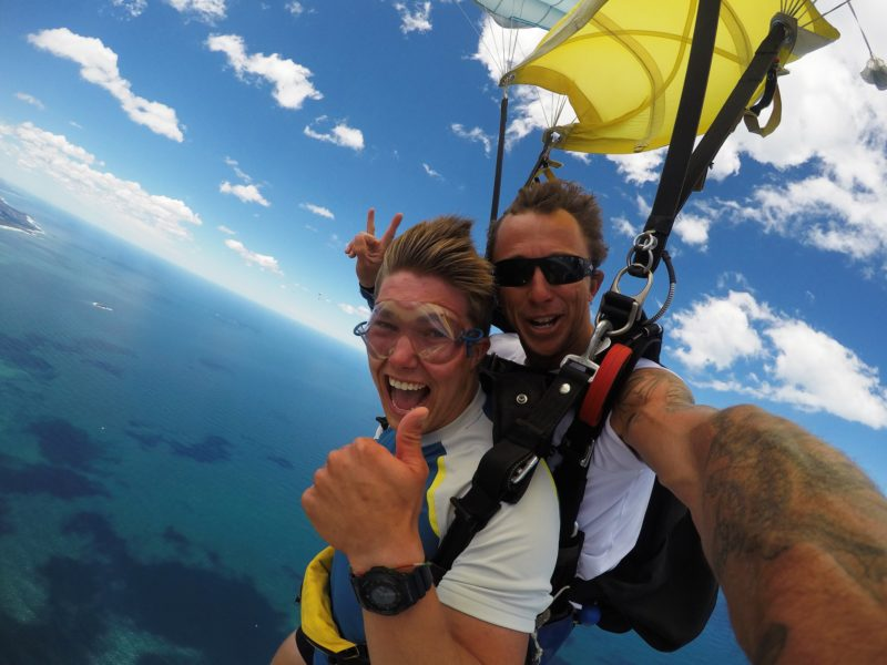 Coffs Skydivers - Smiles Under Canopy