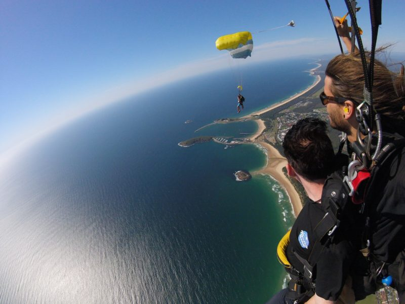 Coffs Skydivers - What A View