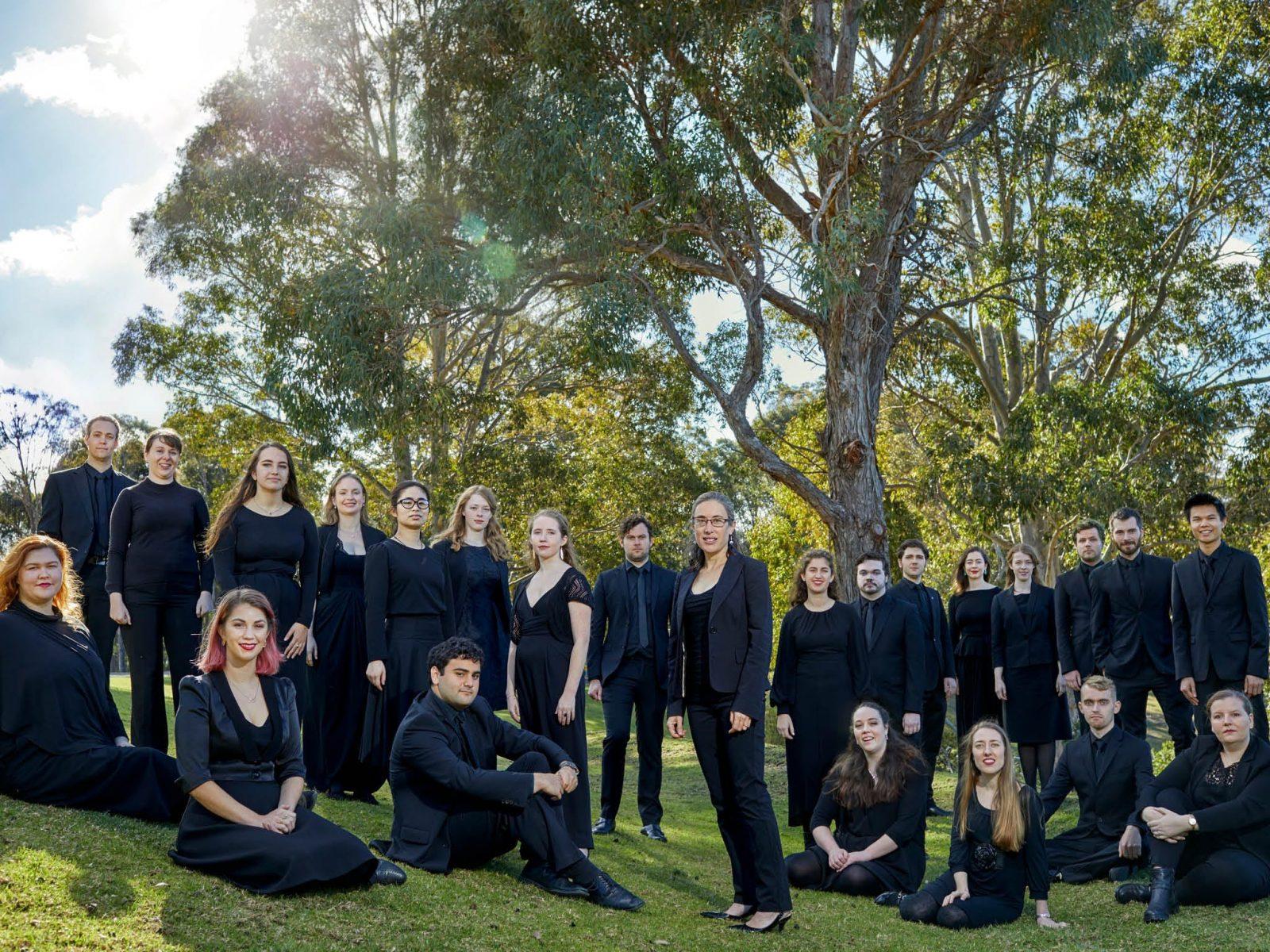 Sydney Philharmonia VOX Choir. Photo by Keith Saunders.