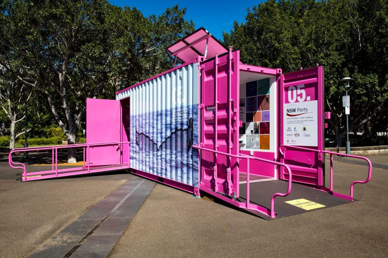 Container — The box that changed the world exhibition in Wagga Wagga