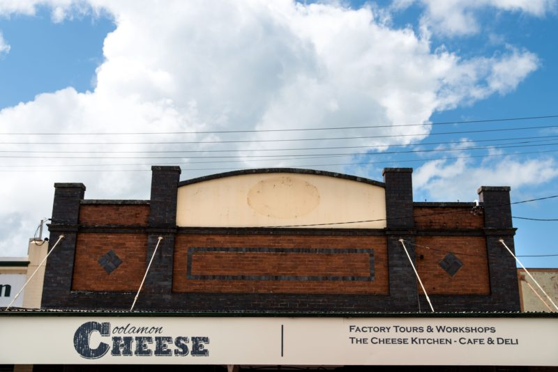 Coolamon Cheese Front