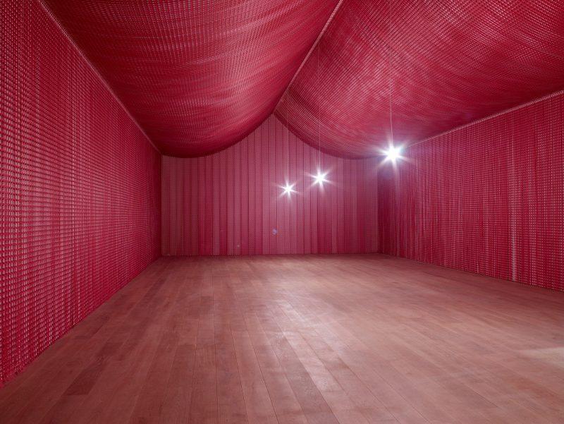 Image of Cornelia Parker installation artwork, the War Room