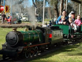 Corowa Apex Miniature Steam Train