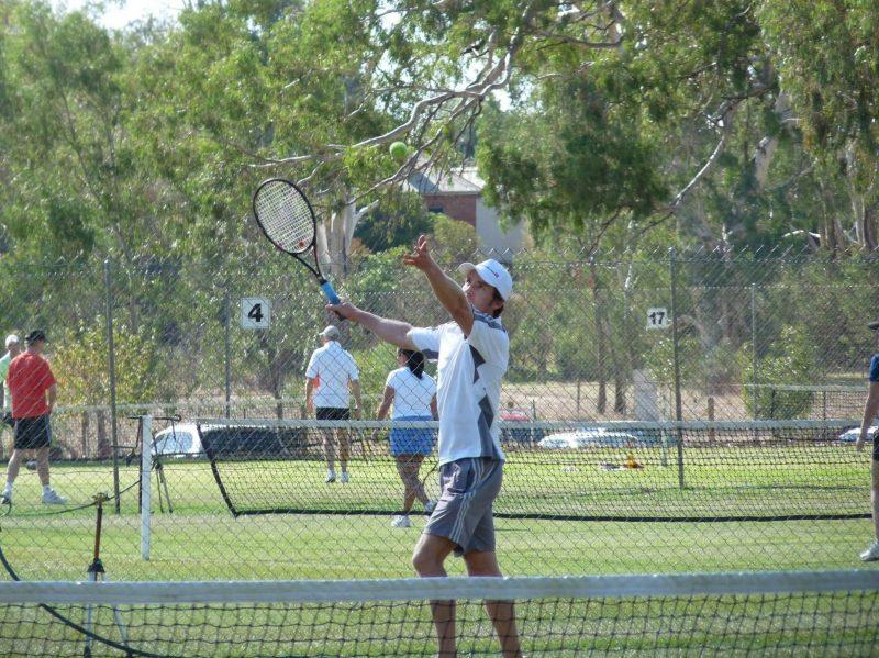 Corowa Easter Lawn Tennis Tournament