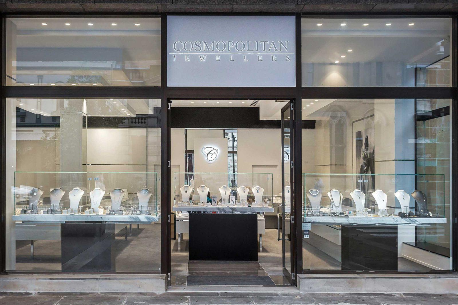 Cosmopolitan Jewellers shop front