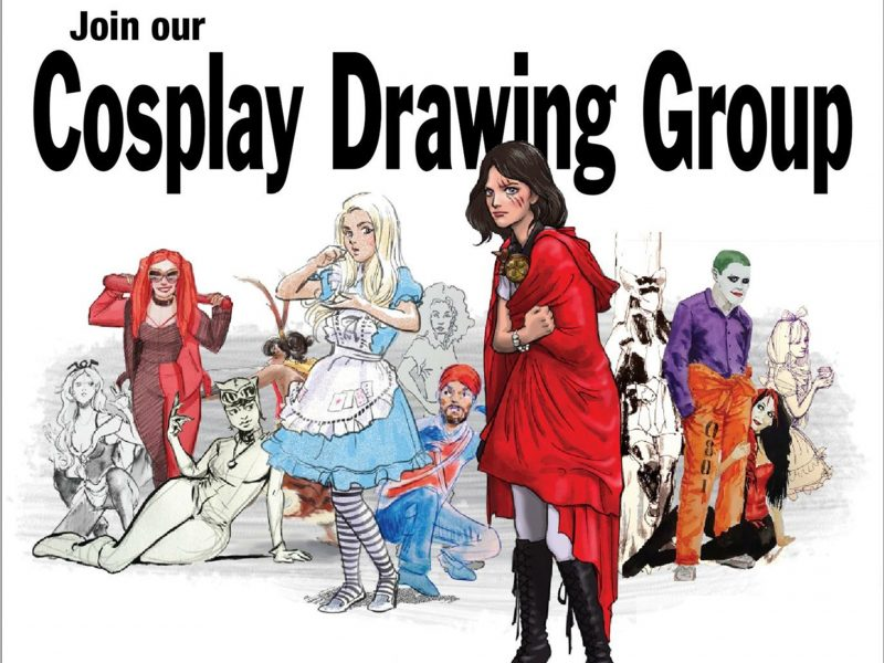 Every last Sunday of the month, drawing sessions are hold at Central Park backyard.