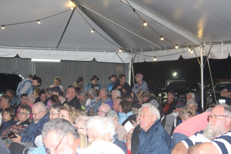 Evening Crowd enjoying the Country Music