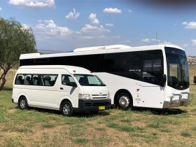 Cowra Bus Service, from mini-bus to 65 seat capacity