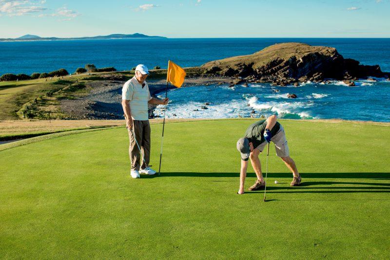 Golf at Crescent Head