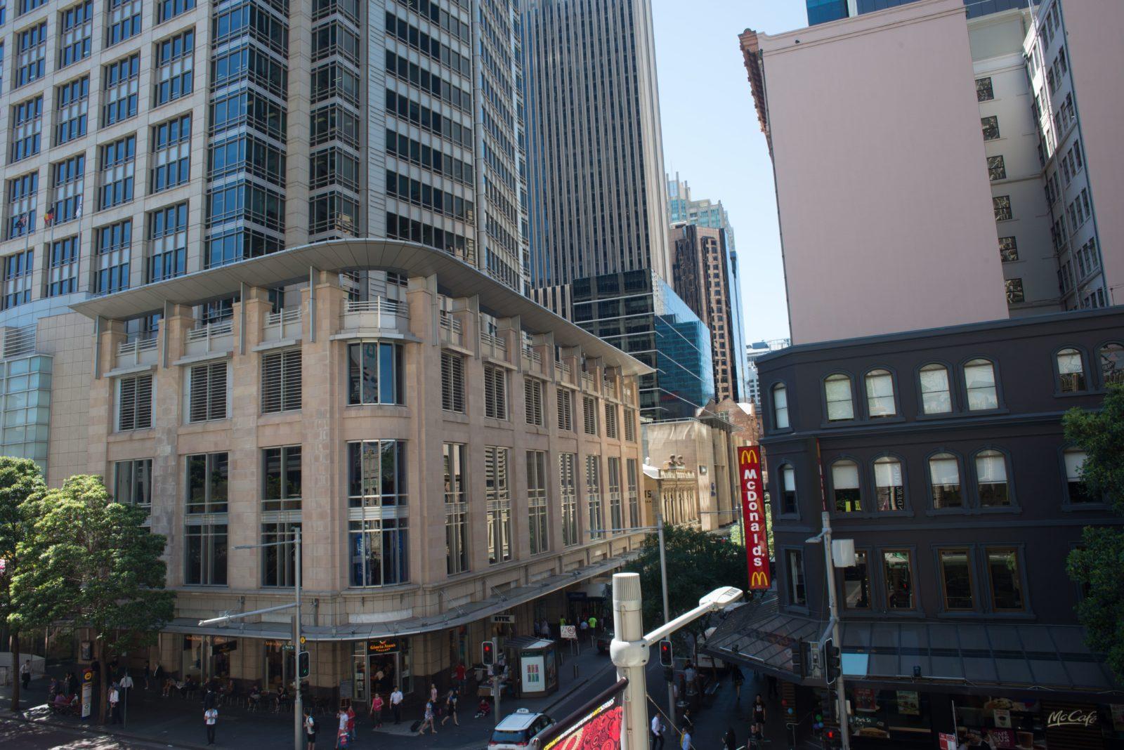 Criterion Hotel Sydney - View