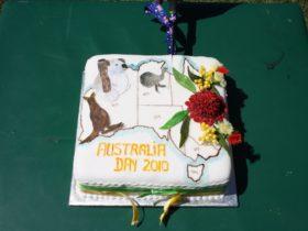 Australia Day Cake made by Reta Beattie