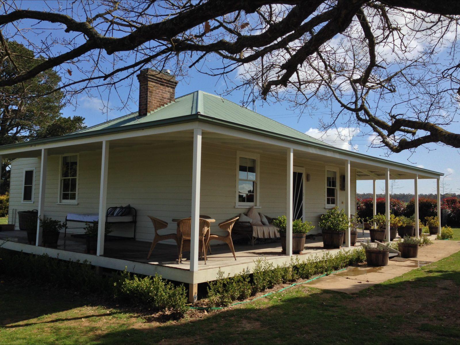Farmhouse frontage