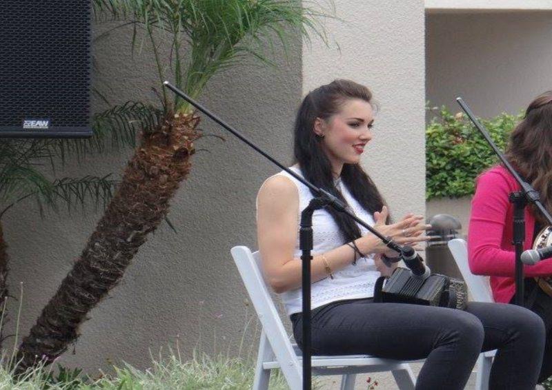 Traditional Irish Musician Aisling Vaughan from Cork