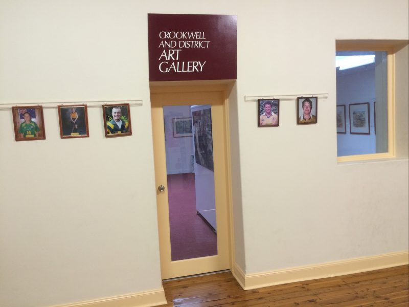 Crookwell District Art Gallery entrance