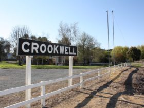 Crookwell train sign
