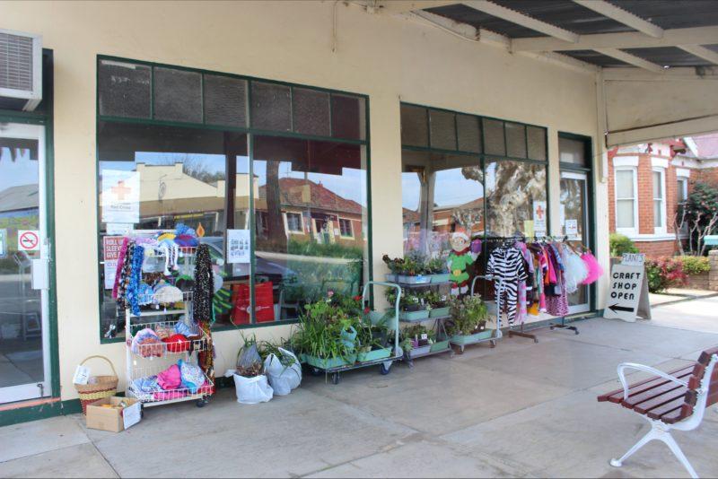 Market Day at Culcairn Red Cross Craft Shop