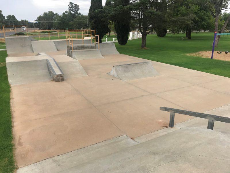 CWA, scooter, playground