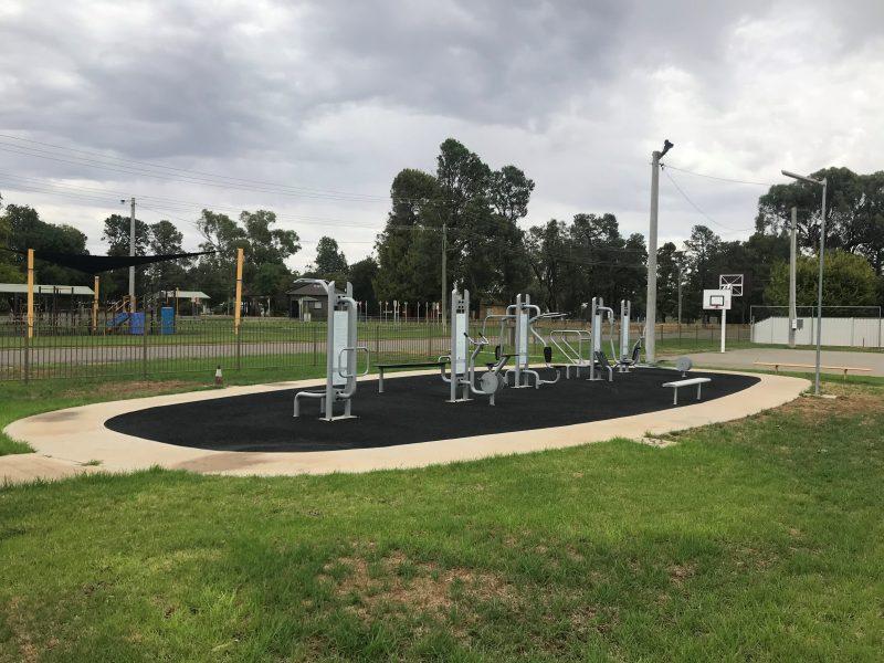 park, fit
