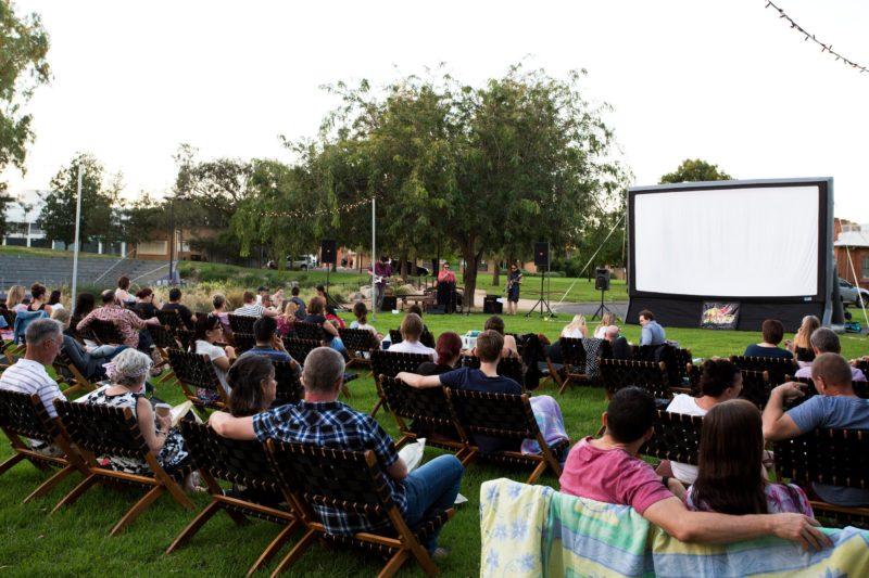 Film Screening by Wollundry Lagoon