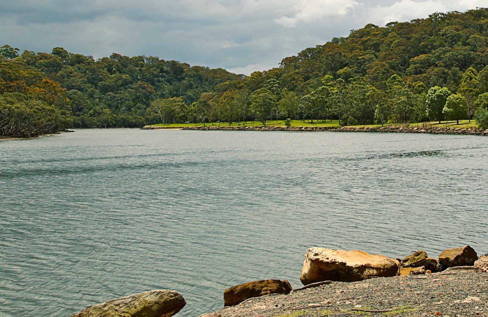 The view along the river. Photo: Shaun Sursok
