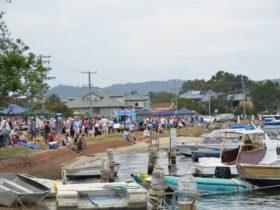 Davistown Putt Putt Regatta and Wooden Boat Festival