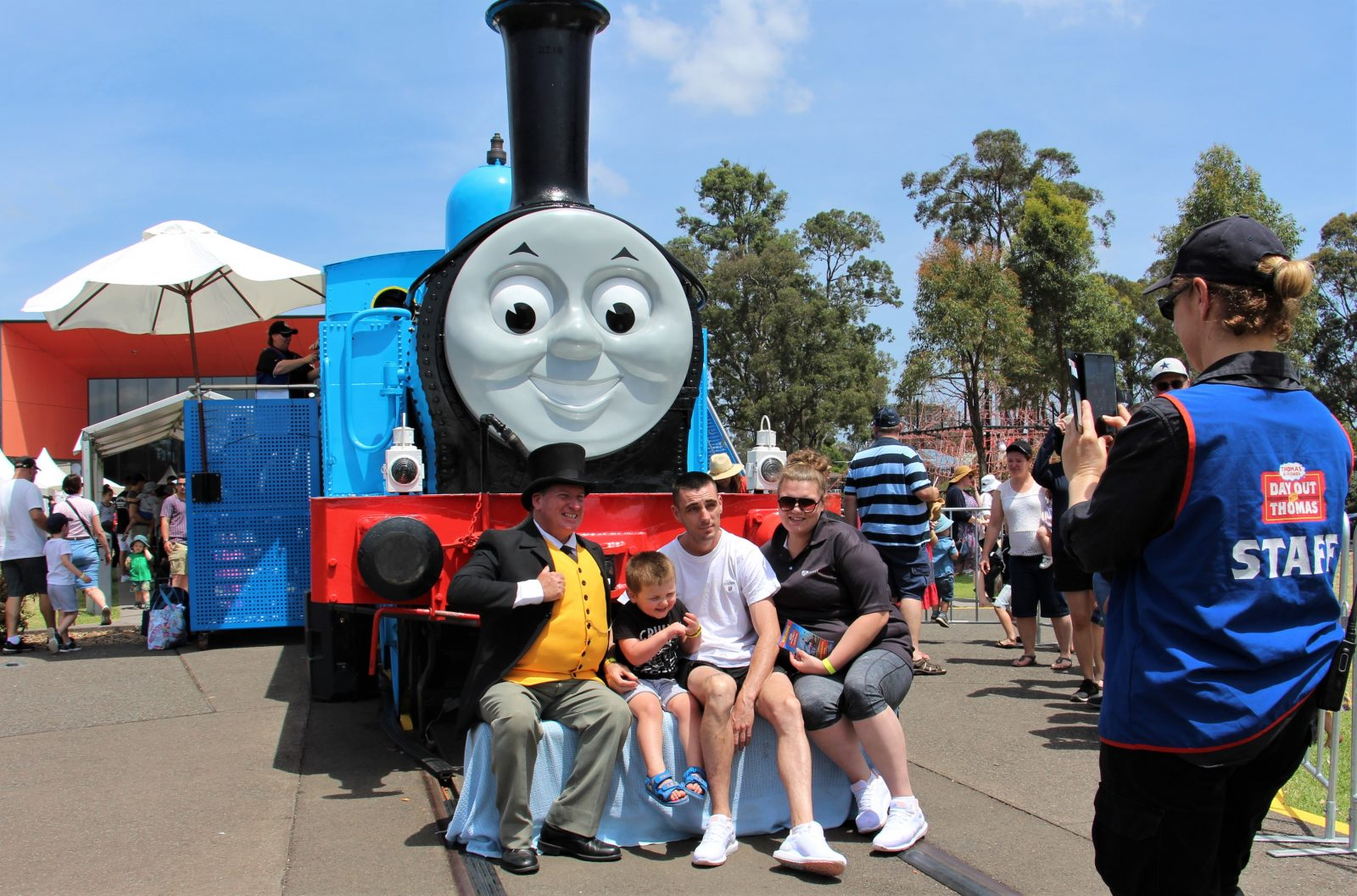 Meet Thomas and the Fat Controller