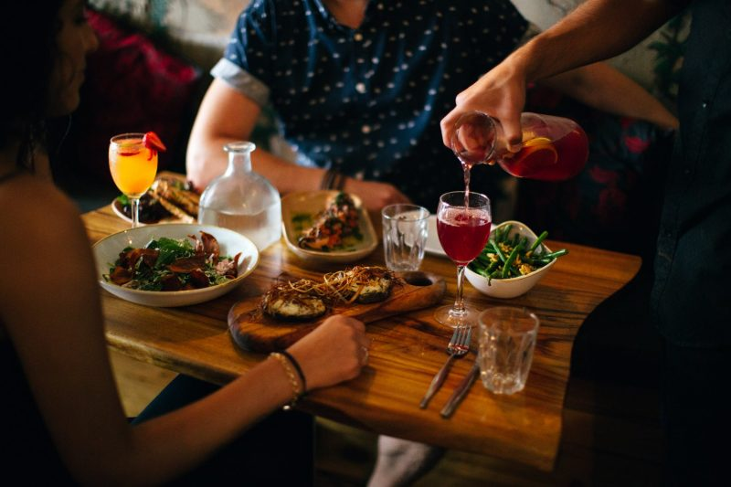 Dining at Del Punto, The Spot, Randwick