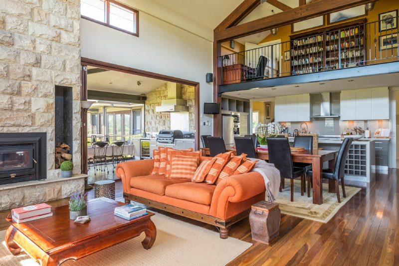 Large open plan living areas