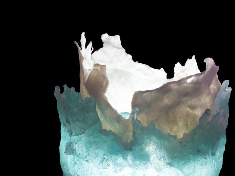 Julie Toke, Illuminating Ice Cores, 2018