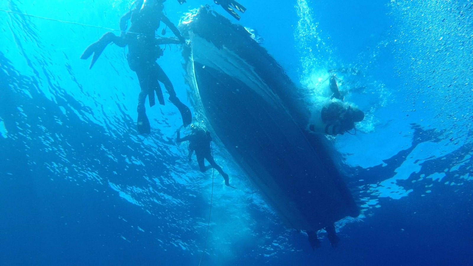 Diving off Ulladulla