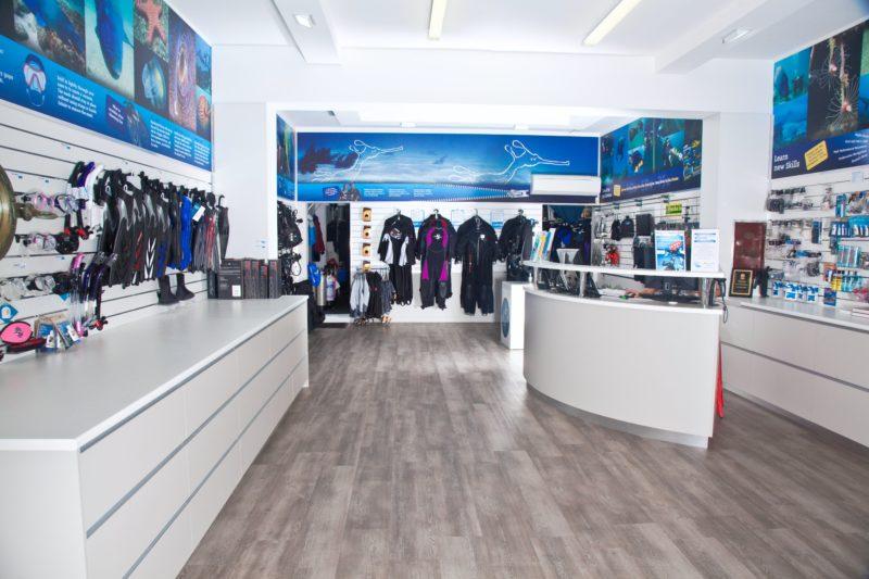 Dive Centre Manly retail shop