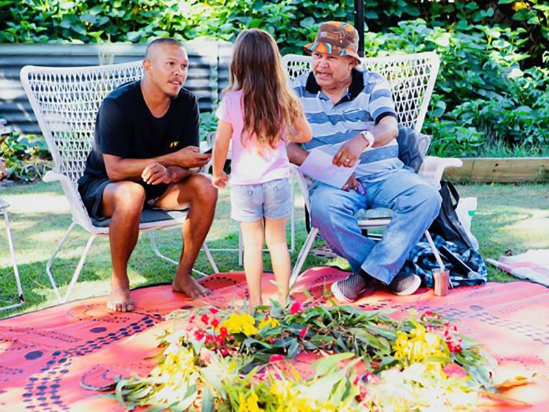 Uncle Ron Yarning Circle Dreamtime Stories