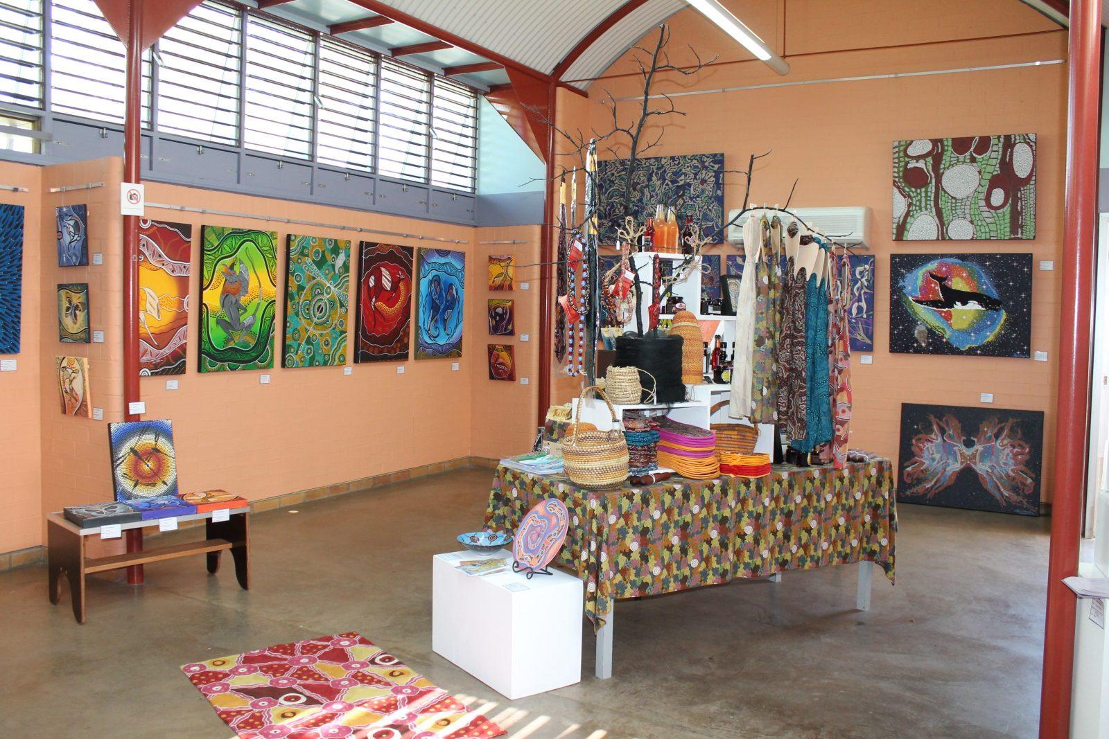 Internal view of Gallery