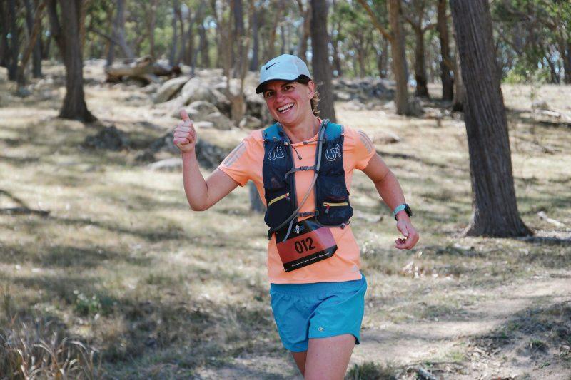 Competitor in the 2018 30 kilometre event