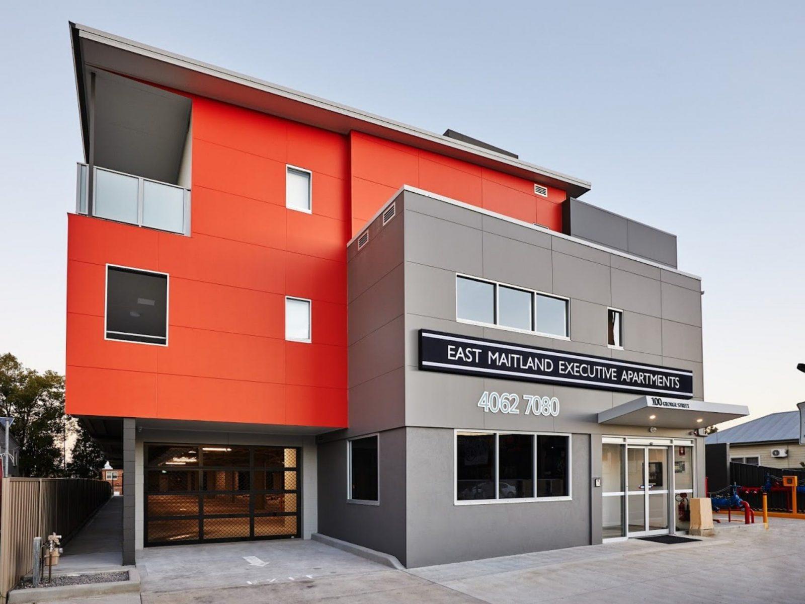 East Maitland Executive Apartments - Outdoor